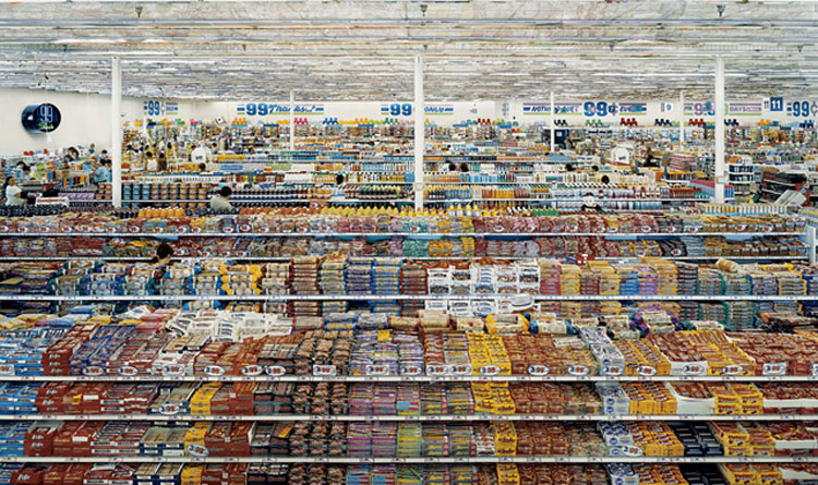 Andreas Gursky 99 Cent 1999 Courtesy Of The Artist