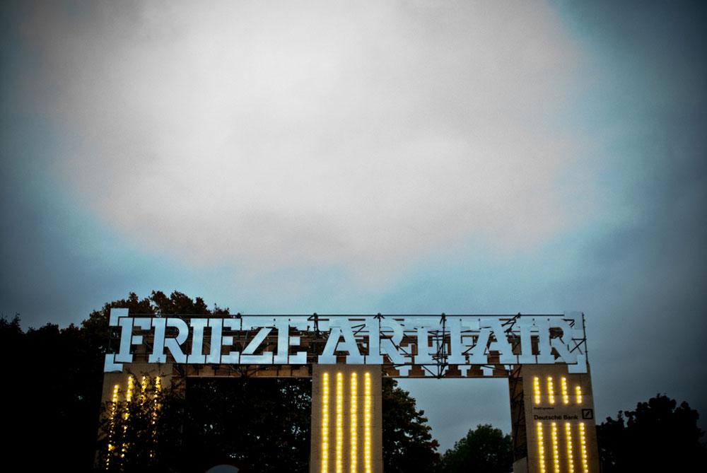 Frieze Art Fair Entrance