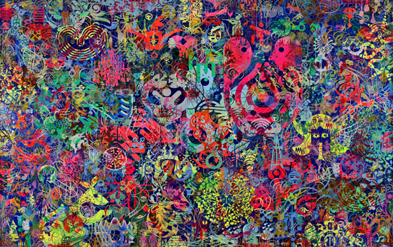 Ryan McGinness - Only A Thief Thinks Everybody Steals