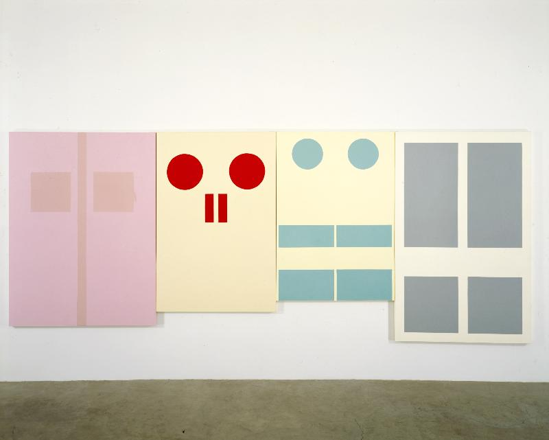 October 2008,  Gary Hume @ Modern Art Oxford