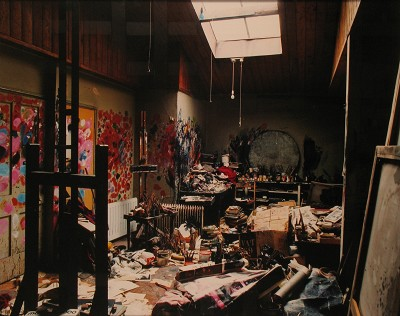 April 07,  WM issue #2: Francis Bacon's studio, Hugh Lane Gallery, Dublin