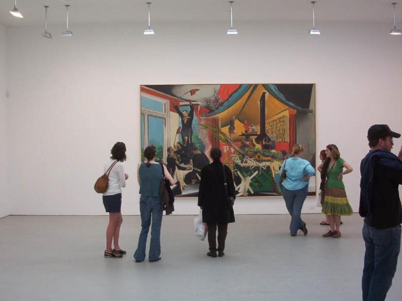Summer 07, WM #4:  Neo Rauch exhibit at the Met