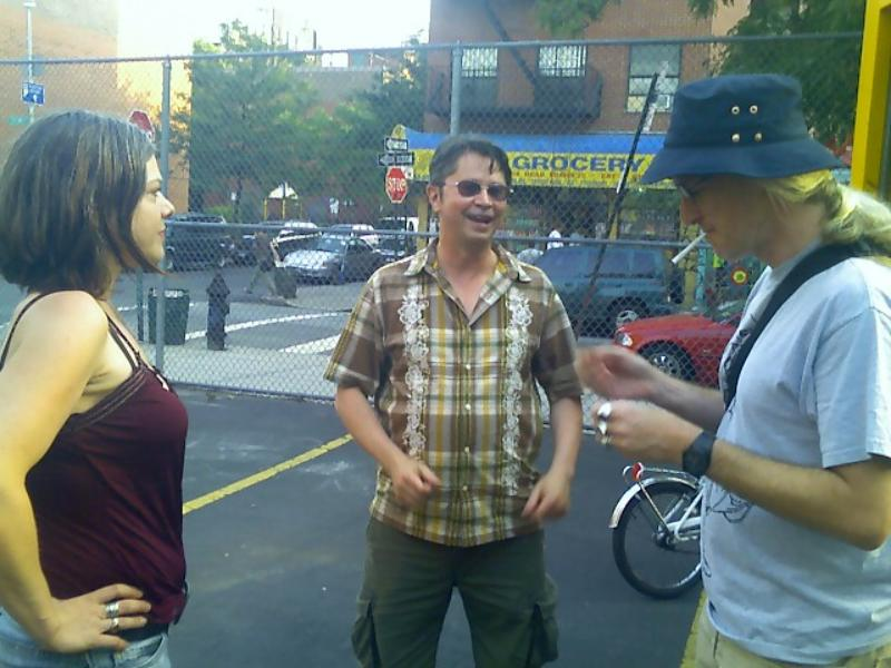 October 2007, Shana Nys Dambrot Interviews Paul Laster and Carlo McCormick During the Whitehot Magazine Festival, New York 2007