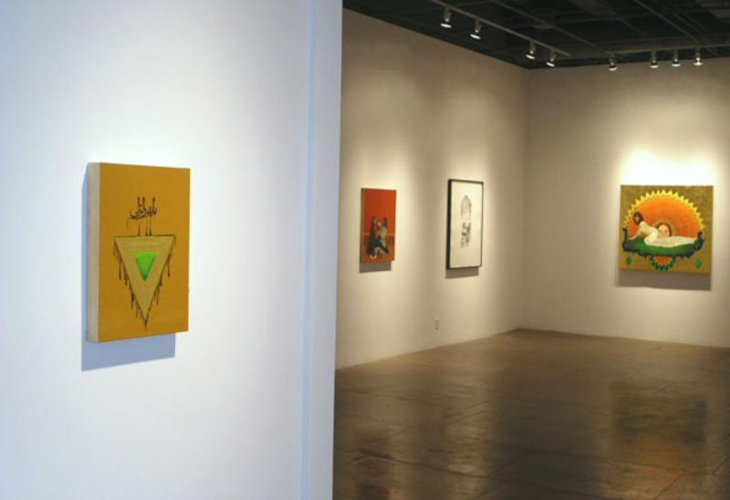 May 2007, WM issue #3:  Taravat Talepasand @ Heather Marx Gallery