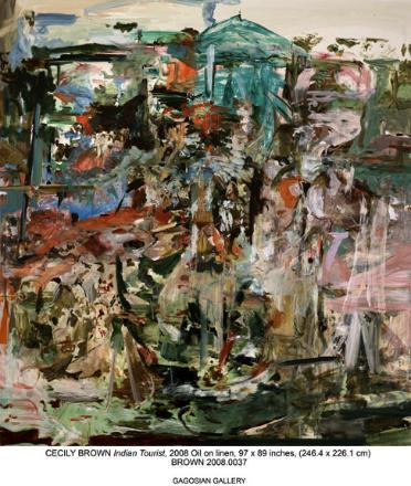 October, 2008,  Cecily Brown @ Gagosian Gallery