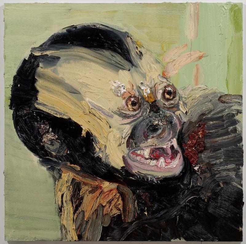 October 2008,  Allison Schulnik @ Mike Weiss Gallery