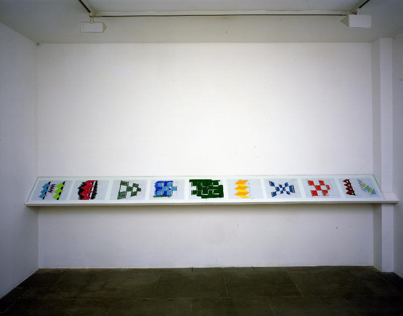Summer 2007, WM #4: Daniel Buren: New Situated Works @ Lisson Gallery