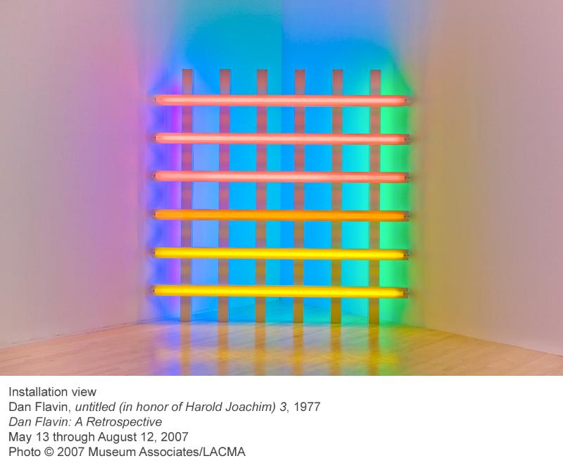 Summer 2007, WM Issue #4: Dan Flavin retrospective @ LACMA