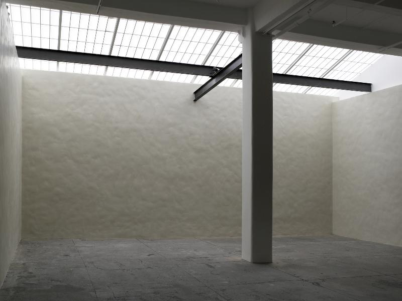 SUMMER 2007, WM #4: White Walls, Andy Goldsworthy, Galerie Lelong, New York