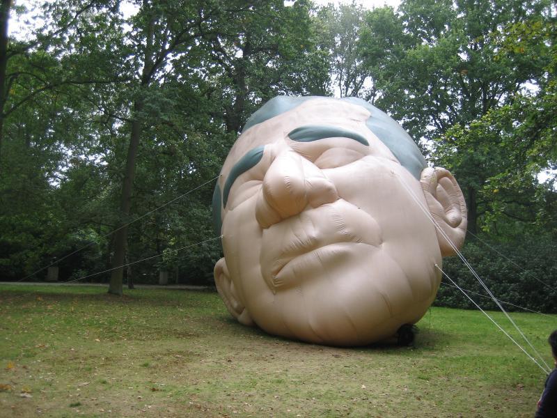 October 2007,  Paul McCarthy @ Middelheim Museum, Antwerp, Belgium
