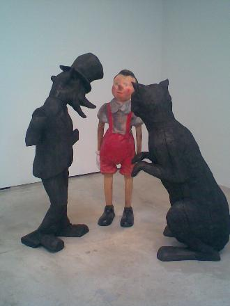 May 2007, WM issue #3: JIM DINE : PINOCCHIO at PACE WILDENSTEIN GALLERY