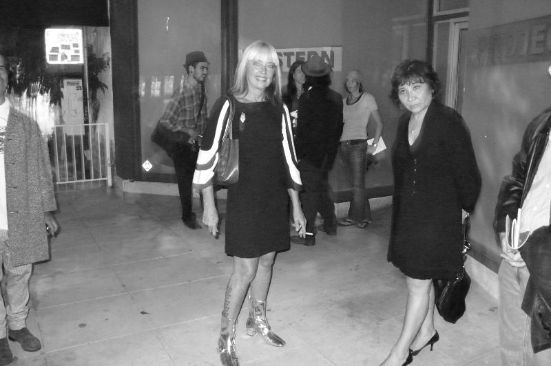 December 2007, Carole Caroompas @ Western Project, Los Angeles CA