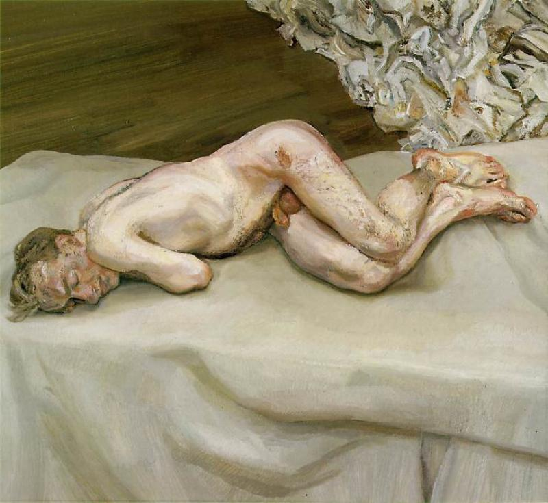 May 2007, WM issue #3:  Lucien Freud @ Irish Museum of Modern Art