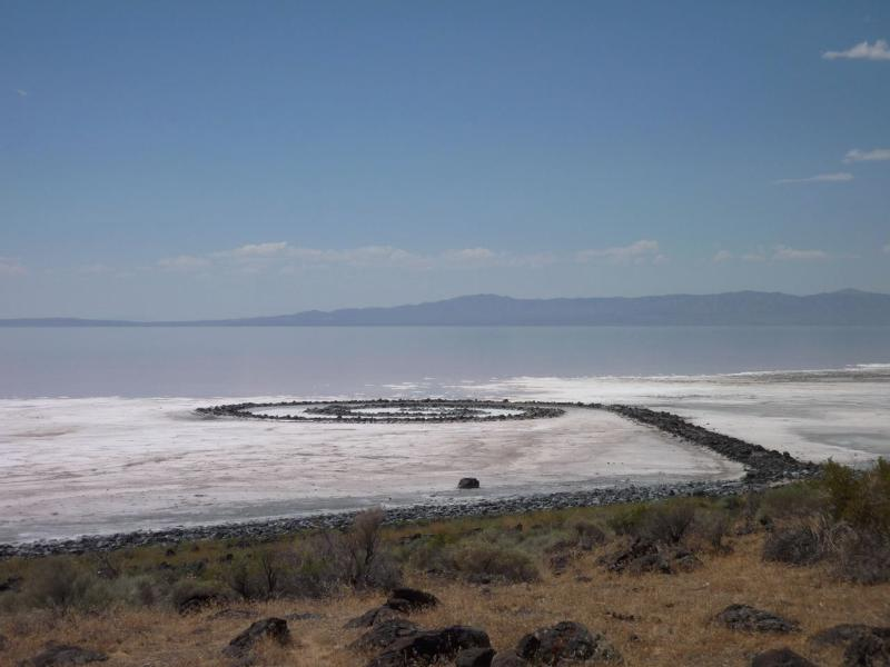 October, 2008, Spiral Jetty