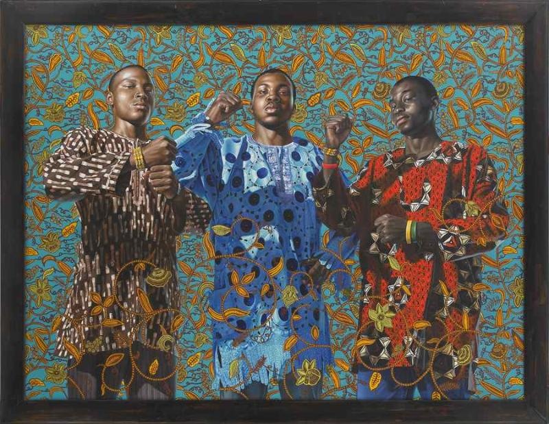 October 2008, Kehinde Wiley @ The Studio Museum in Harlem