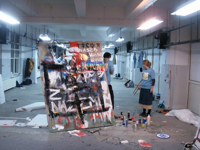 Artur Zmijewski, Them @ Documenta 12