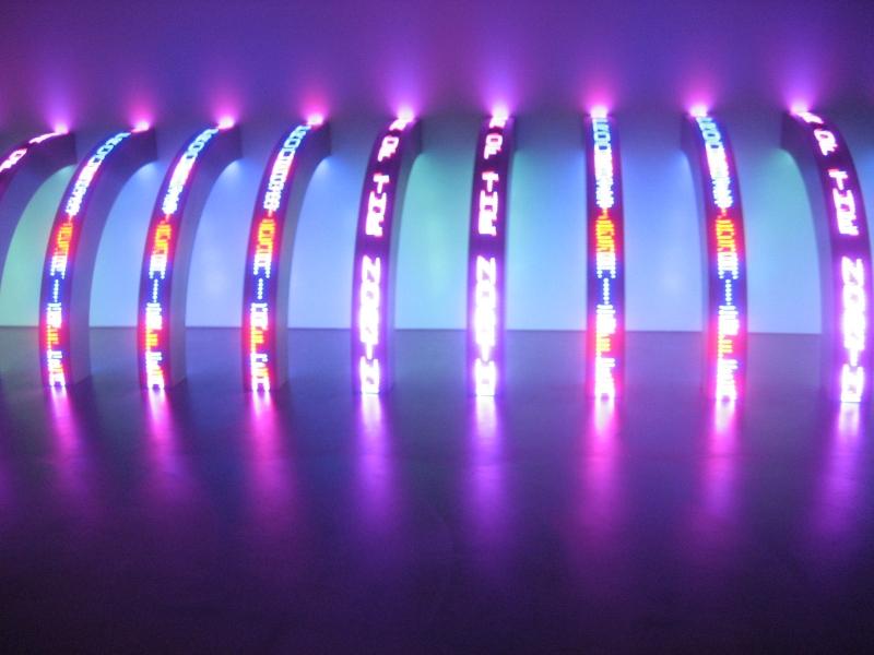 November 2008, Jenny Holzer @ Museum of Contemporary Art