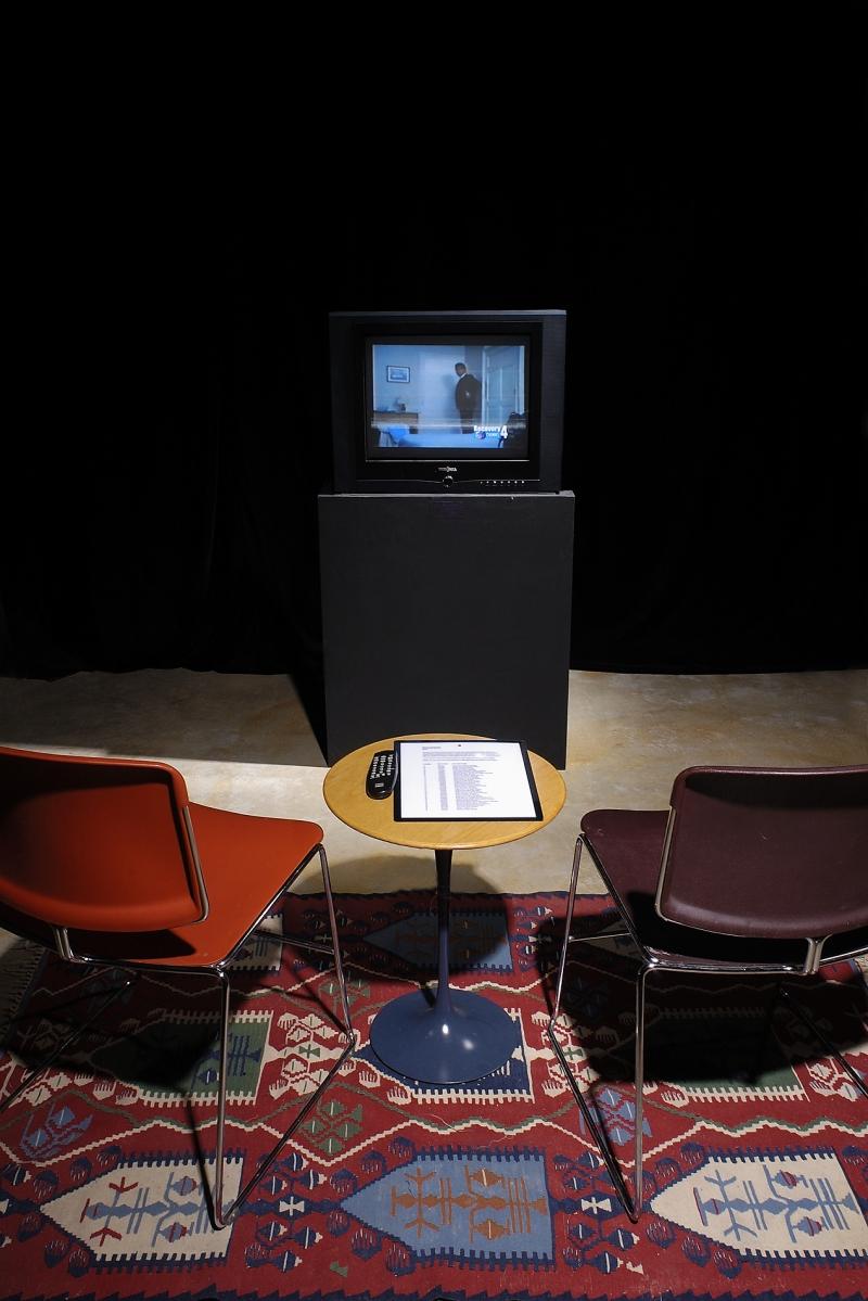 December 2008, Nina Katchadourian and Ray Beldner @ Catherine Clark Gallery