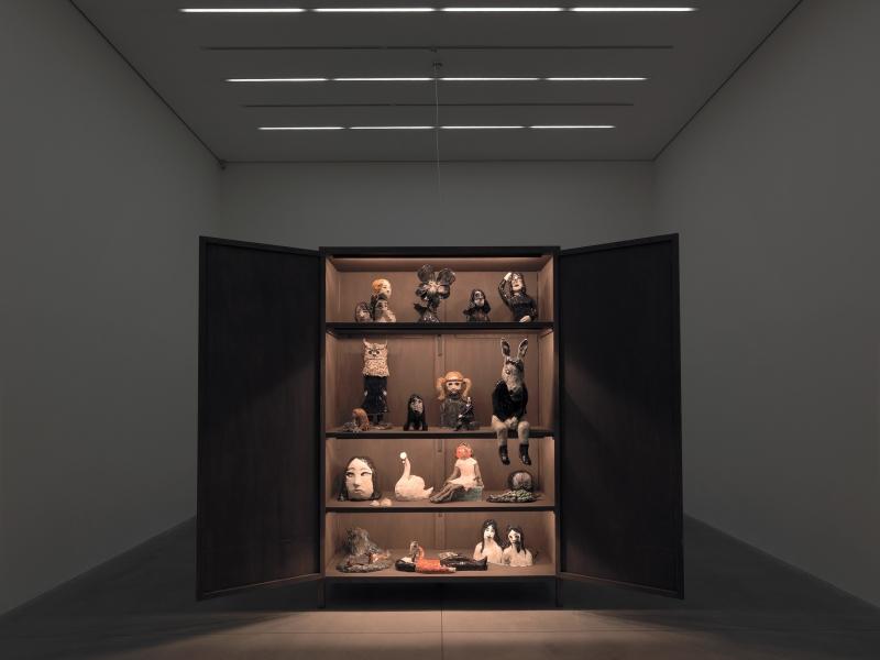 March 2009, Klara Kristalova @ Alison Jacques Gallery