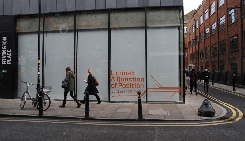 March 2009, Liminal: A Question of Position @ Rivington Place