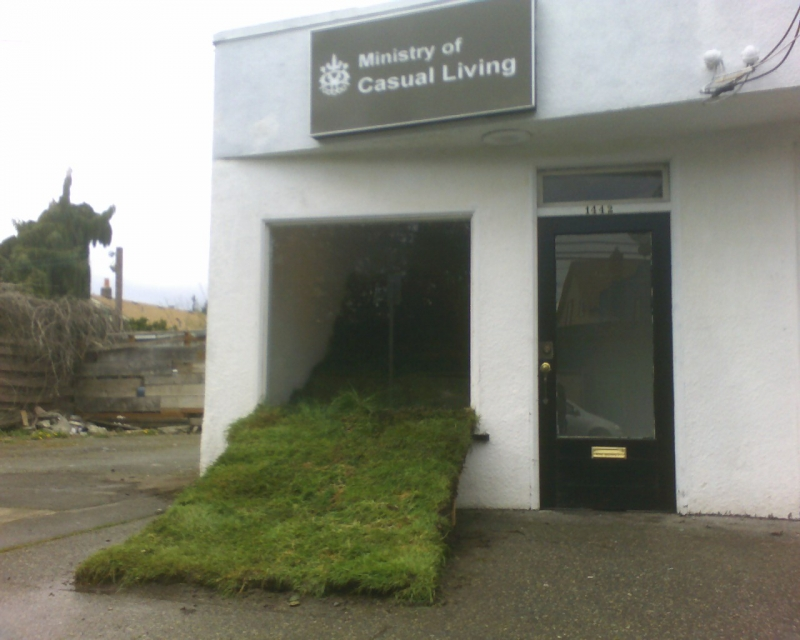 March 2009, The Ministry of Casual Living