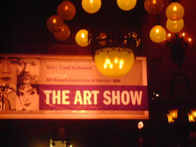 March 2009,  The Art Show @ The Armory