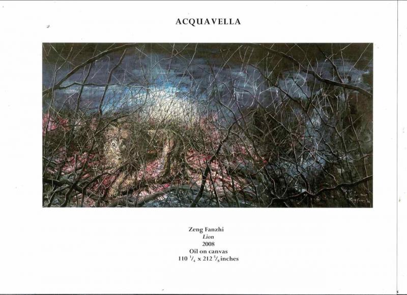 April 2009, Zeng Fanzhi @ Acquavella Contemporary Art