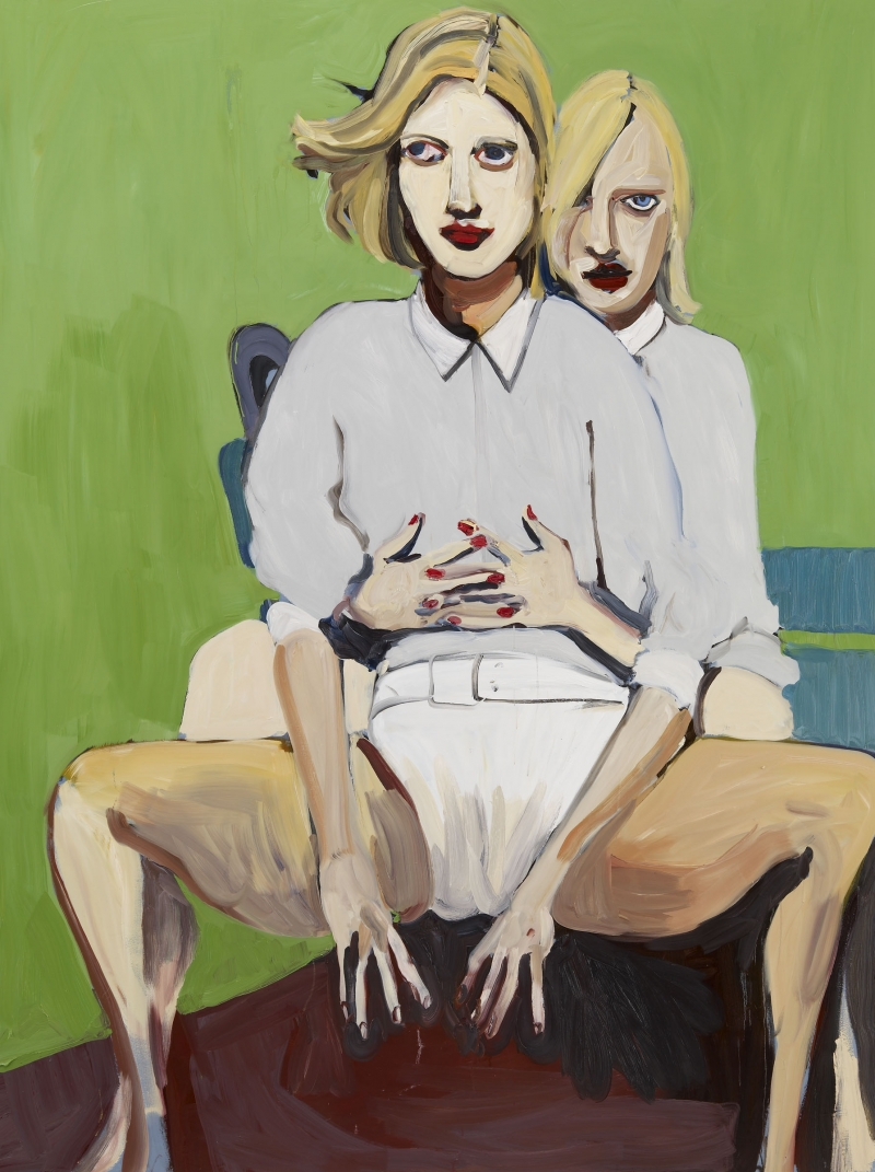 June 2009, Chantal Joffe @ Cheim & Read