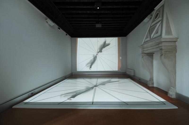 August 2009, Bruce Nauman @ The US Pavillion, Venice Biennale