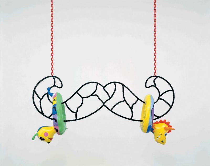 August 2009, Jeff Koons @ Serpentine Gallery