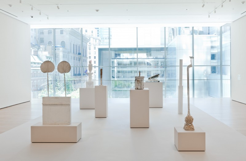 September 2011: Cy Twombly: Sculpture @ Museum of Modern Art, New York