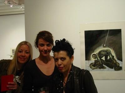 April 07 WM issue #2: Diane Gamboa, SNATCH IS ALCHEMY, @ Overtones Gallery Culver City, CA
