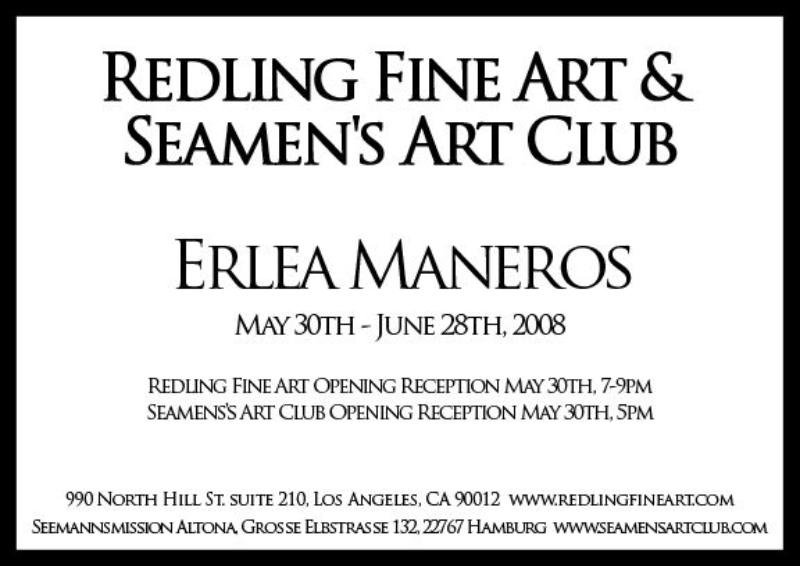 LOS ANGELES: Redling Fine Art and Seamen's Art Club: May 30th 2008