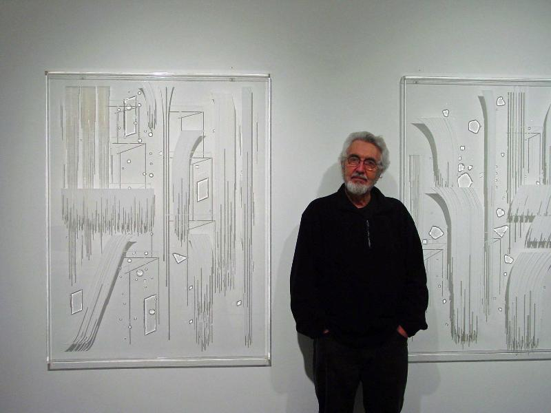 February 2008, Studio Visit with Roland Reiss
