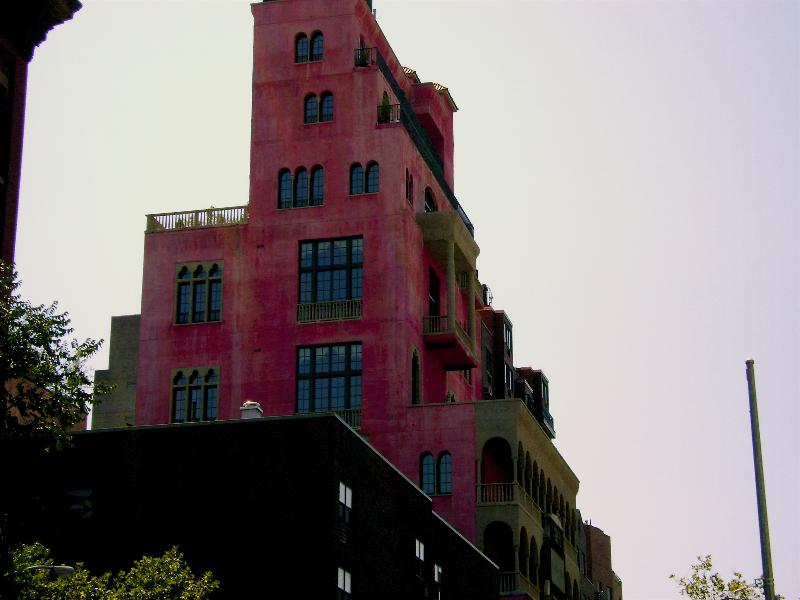 September 2008,  Julian Schnabel, Pink Palace