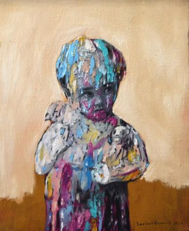La niña del peluche (the teddy girl)