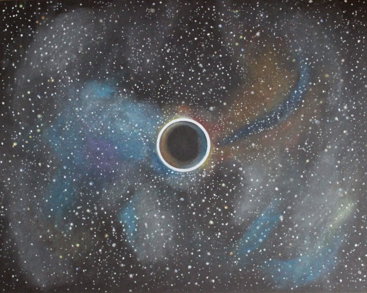 Visualization of an Event Horizon