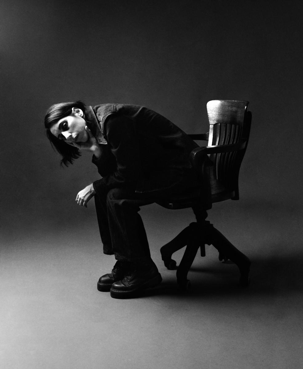 Untitled (Daffy on Chair)